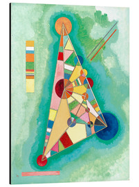 Aluminio-Dibond  Stained in Triangle - Wassily Kandinsky