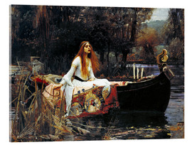 Cuadro de metacrilato  La dama de Shalott - John William Waterhouse