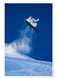 Póster  Snowboarding