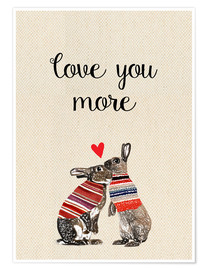 Póster Love you more