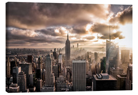 Lienzo  Sunset New York - Sören Bartosch