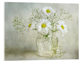 Cuadro de metacrilato  Still life with Chrysanthemums - Mandy Disher