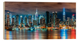 Madera  New York, Midtown Skyline by Night - Sascha Kilmer