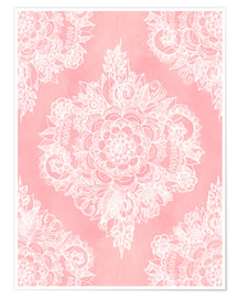Póster  Marshmallow Lace - Micklyn Le Feuvre