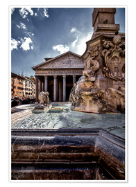 Póster Pantheon Rome, Italy