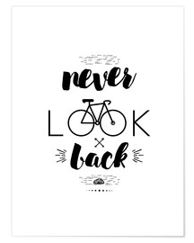 Póster Never Look Back
