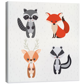 Lienzo  Forest animals - Kidz Collection