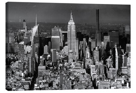 Lienzo  Empire State Building, New York City (monochrome) - Sascha Kilmer