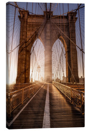 Lienzo  Brooklyn Bridge NYC - Sören Bartosch