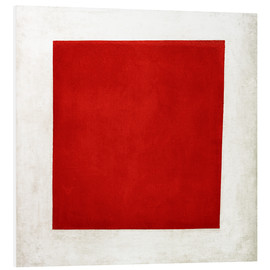 Cuadro de PVC  Red square - Kasimir Sewerinowitsch  Malewitsch