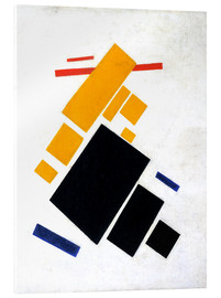 Cuadro de metacrilato  Suprematische Composition: Airplane Flying - Kasimir Sewerinowitsch  Malewitsch
