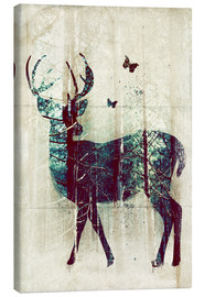 Lienzo  Deer in the Wild - Sybille Sterk