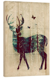Madera  Deer in the Wild - Sybille Sterk
