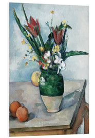 Forex  The Vase of Tulips - Paul Cézanne
