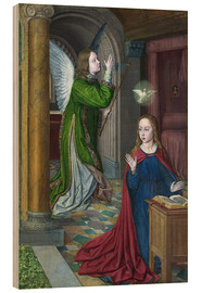 Cuadro de madera  The Annunciation - Jean Hey