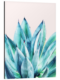Aluminio-Dibond  Agave Watercolor - Uma 83 Oranges