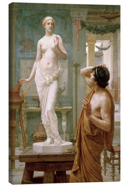 Lienzo  Pygmalion and Galatea - Ernest Normand