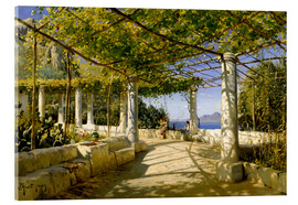 Metacrilato  Pergola on Capri overlooking the Vesuvius - Peder Mork Mönsted