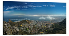 Lienzo  Panorama Cape Town South Africa - Achim Thomae