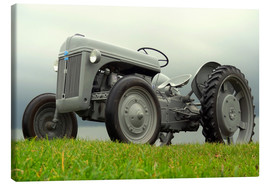 Lienzo  Tractor Ford 2N