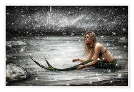 Póster  Winter Mermaid - Justin Gedak