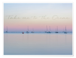 Póster Take me to the ocean