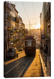 Lienzo  Tram in Lisbon, Portugal, Europe - Alex Treadway