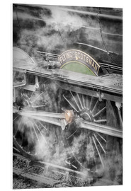Forex  The Flying Scotsman steam locomotive arriving at Goathland station on the North Yorkshire Moors Rail - John Potter
