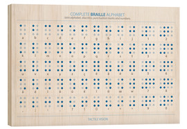 Madera  Braille - Alphabet - Typobox