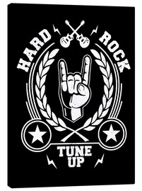 Lienzo  Hard rock - Durro Art