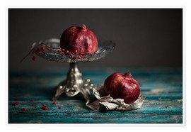 Póster Still Life with Pomegranate