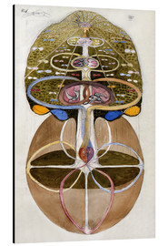 Aluminio-Dibond  The Tree of Knowledge 1 - Hilma af Klint