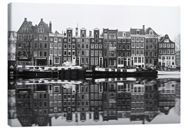 Lienzo  Reflections of Amsterdam - George Pachantouris