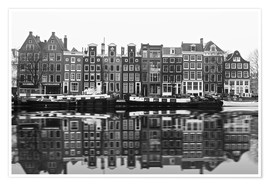 Póster Reflections of Amsterdam