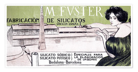 Póster M. Fuster