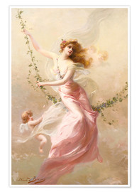 Póster  The swing - Edouard Bisson