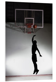 Forex  Silhouette of a basketball player