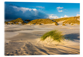 Cuadro de metacrilato  Dunes on the island of Amrum, North Sea
