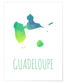 Póster Guadeloupe