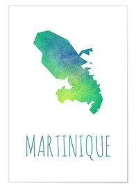 Póster Martinique