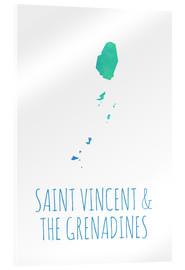 Cuadro de metacrilato  Saint Vincent & the Grenadines - Stephanie Wittenburg