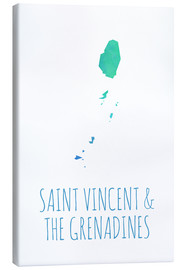 Lienzo  Saint Vincent & the Grenadines - Stephanie Wittenburg