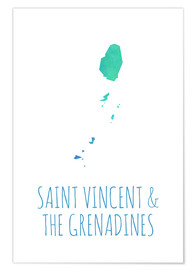 Póster Saint Vincent & the Grenadines