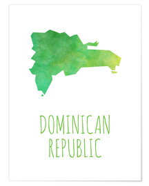 Póster Dominican Republic