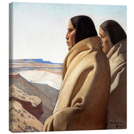 Lienzo  Men of the Red Earth - Maynard Dixon