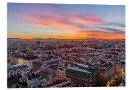 Forex  Vienna Skyline at sunset, Austria - Mike Clegg Photography
