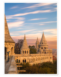 Póster  Fishermans Bastion, Budapest - Mike Clegg Photography