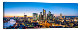 Lienzo  Skyline panorama from Frankfurt - Jan Christopher Becke