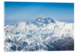 Metacrilato  Aerial view of Mount Everest in the Himalaya - Matteo Colombo