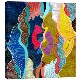 Lienzo  Abstract flourishes